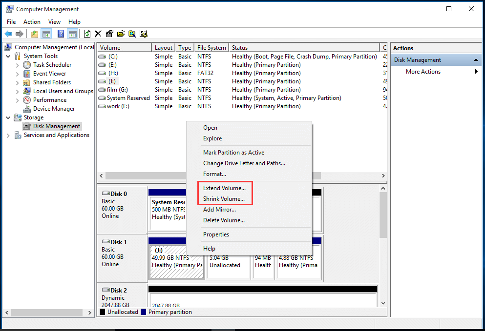 change NTFS partition size in DM