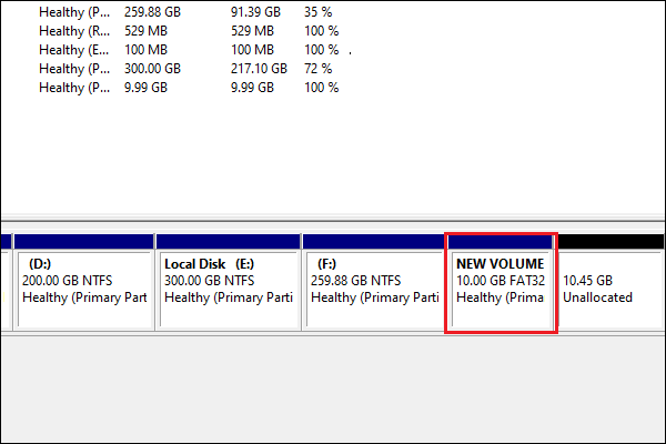 resize FAT32 partition