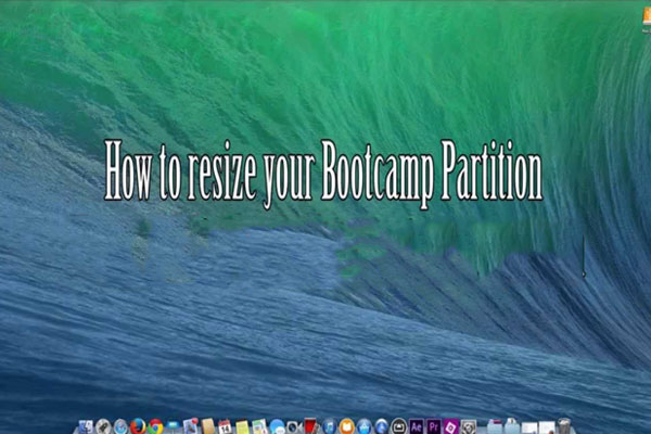 How to Free Resize Bootcamp Partition without Deleting Windows