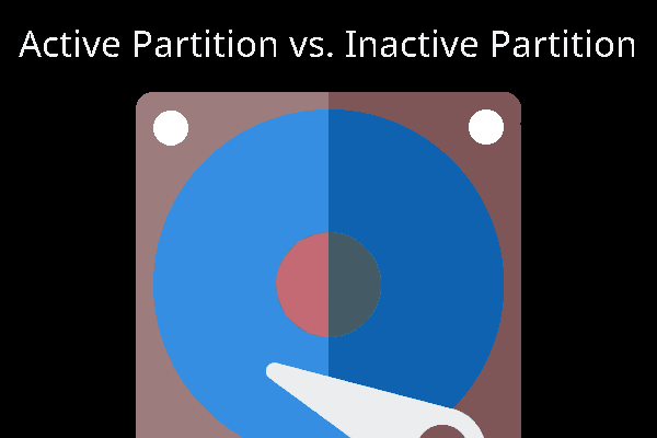 active vs inactive partition thumbnail