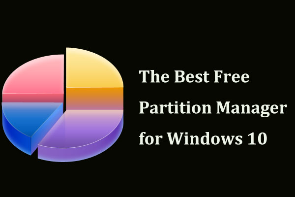 best free partition manager for Windows 10
