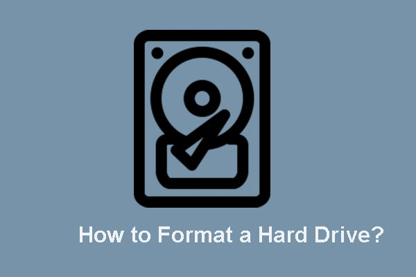 how to format a hard drive thumbnail