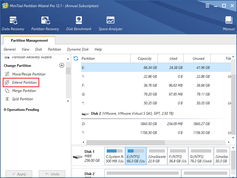 move unallocated space to C drive Windows 10