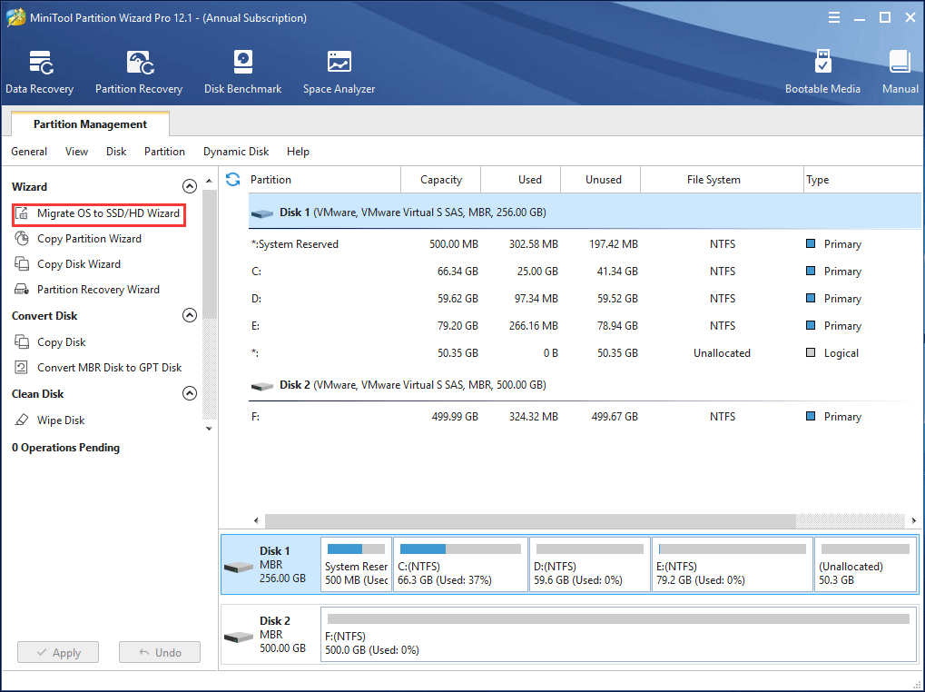 migrate OS to Kingston SSD