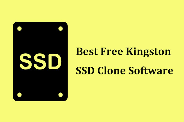 Kingston SSD clone software