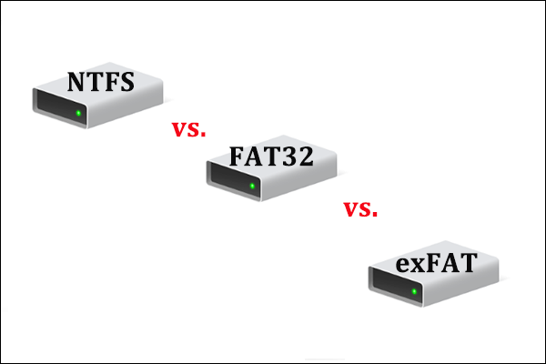 NTFS vs  FAT32 vs  exFAT – Differences and How to Format to