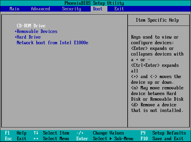 boot form DVD