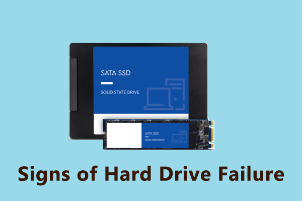 signs of hard drive failure thumbnail