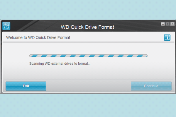 How to Format an External Hard Drive with WD Quick Formatter?