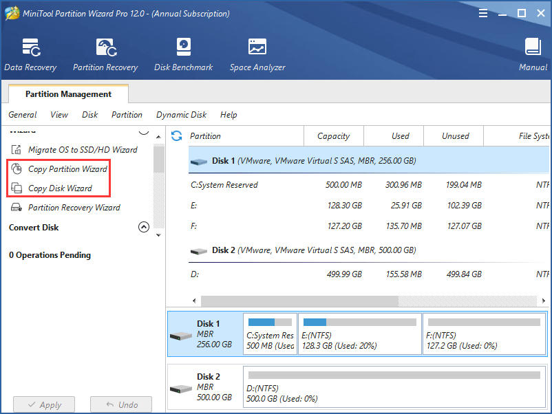copy disk or partition