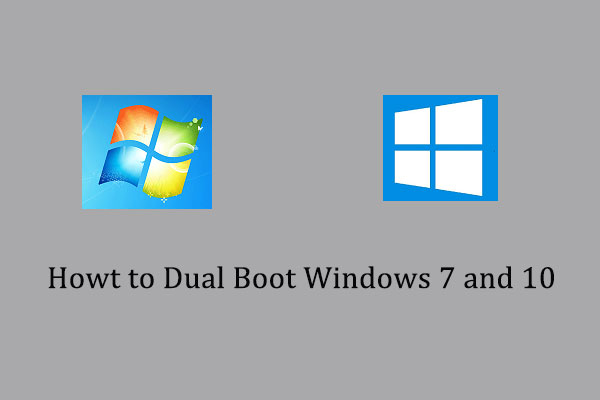 dual boot windows 7 and windows 10 thumbnail