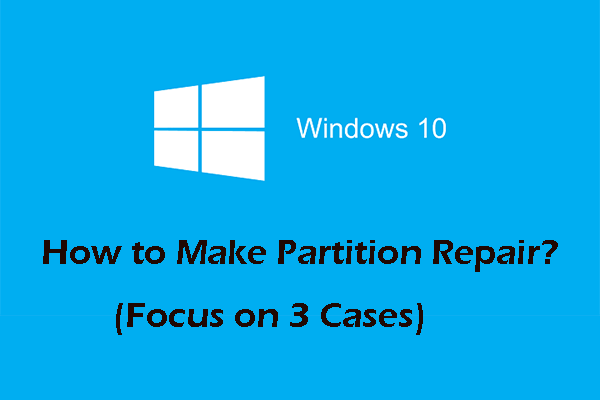 partition repair
