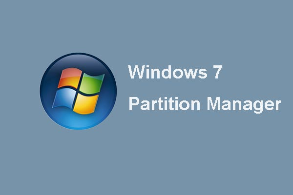 Partition Windows 7 32/64-Bit by MiniTool Partition Wizard