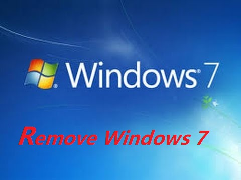 Two Ways to Remove Windows 7 after Installing Windows 10