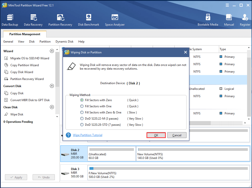 how to wipe deleted files from hard drive
