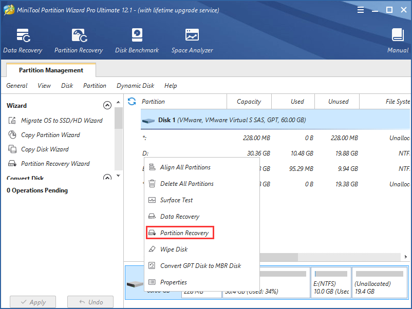 recover deleted EFI partition