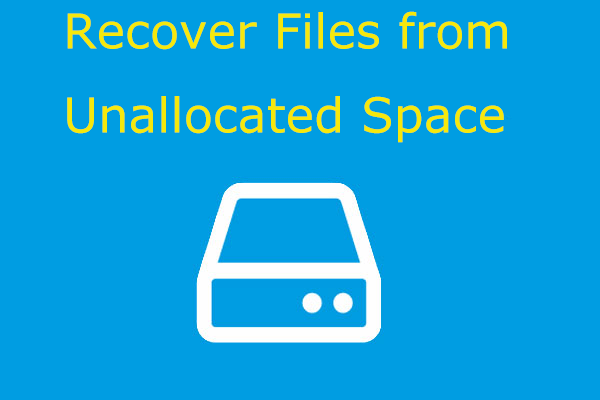 recover files from unallocated space thumbnail