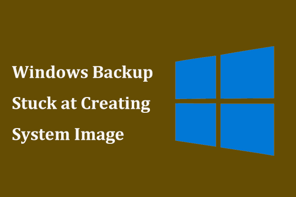 Windows backup is currently in progress 97