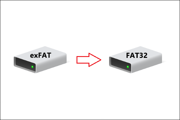 3 Quick Fixes to Change exFAT to FAT32 File System Windows 10