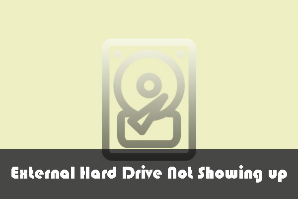 10 Situations Where External Hard Drive not Showing up & Solutions