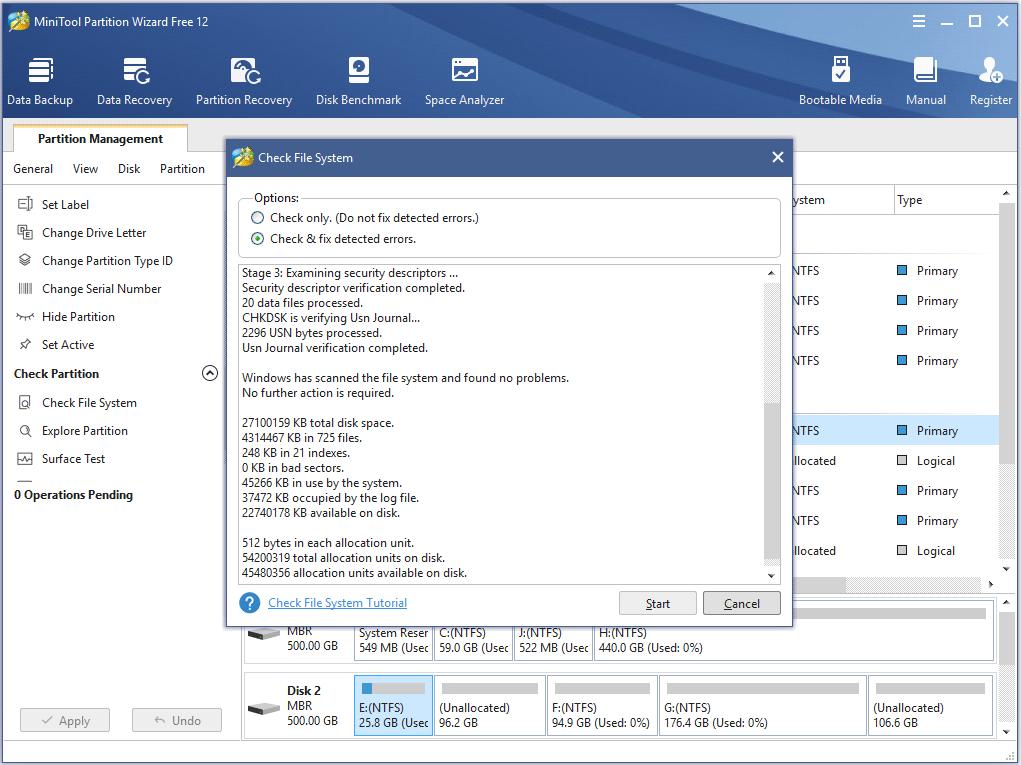 Hard disk repair software free windows 7 download