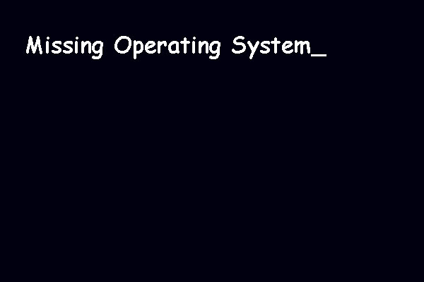 Here Are 5 Perfect Solutions to Missing Operating System