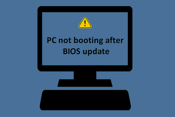 bios is updating loop