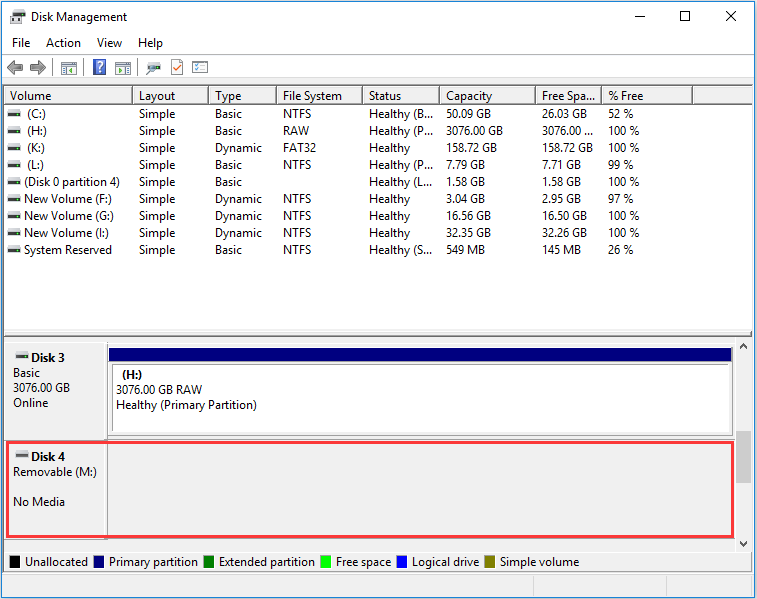 Best Fixes: Removable Disk No Media in Disk Management