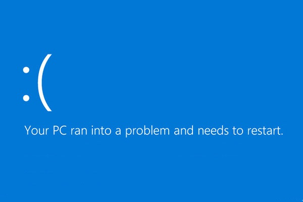 Quickly Solve - Your PC Ran into a Problem and Needs to Restart