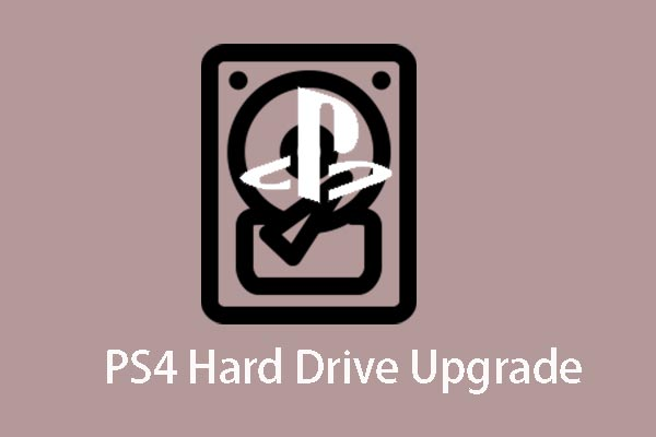 PS4 hard drive upgrade