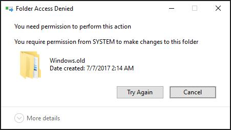 How to Delete Windows old Folder in Windows 10 – MiniTool