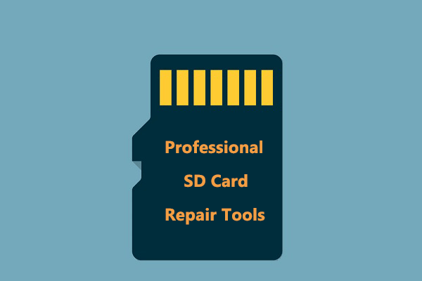 Quickly Fix Corrupted SD Card with Professional SD Card Repair Tools