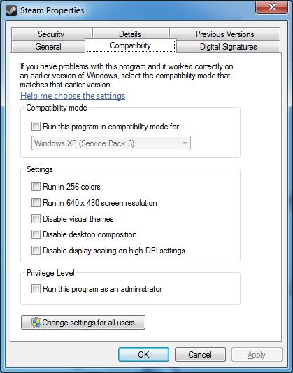 「Windows プログラム互換性モードが有効になっています。オフにしてからセットアップを再試行してください。」と ...