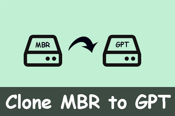 clone MBR to GPT
