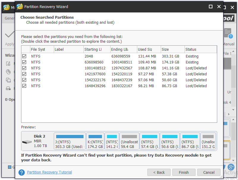 External Hard Drive Partition Recovery