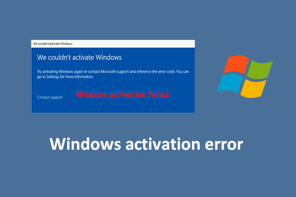 get help with activation errors thumbnail