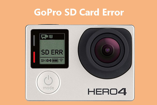 Step-by-Step Guide on How to Repair SD Card Error on GoPro Cameras