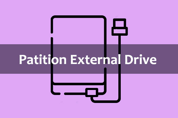 create FAT32 partition on external hard drive