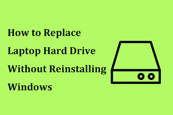 replace laptop hard drive thumbnail