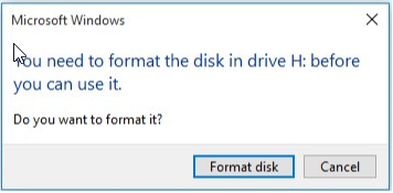 format drive