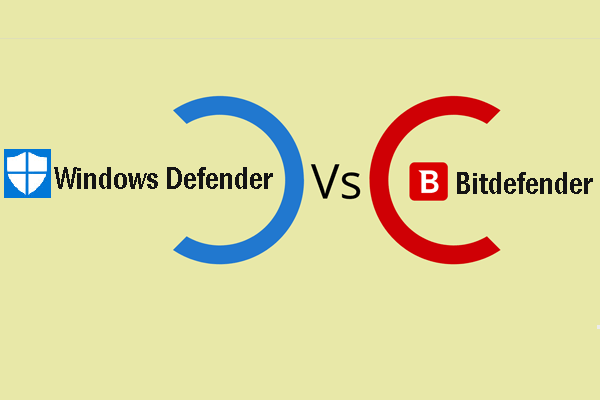 Bitdefender vs. Windows Defender