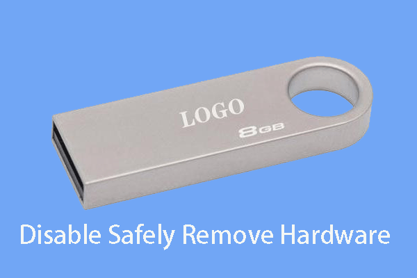 disable safely remove hardware thumbnail