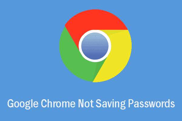 google chrome not saving passwords thumbnail