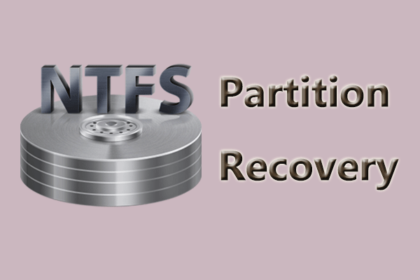 NTFS hard disk recovery