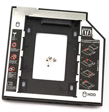 hard drive mounting bracket for CD-ROM bay