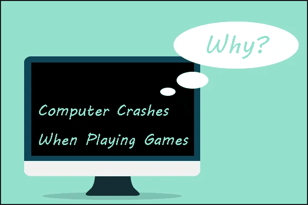 computer crashes when playing games