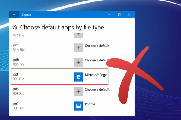 disable the pdf reader in microsoft edge thumbnail