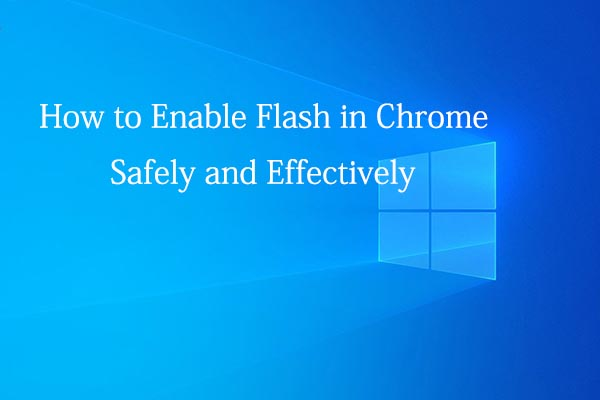 how to enable flash in chrome thumbnail