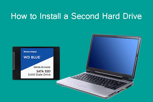 how to install a second hard drive