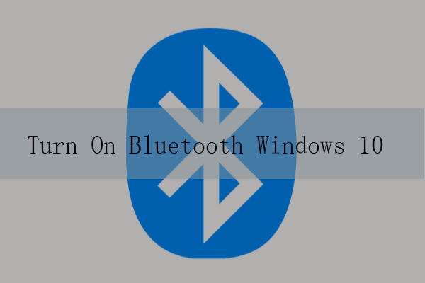 how to turn on bluetooth on windows 10 thumbnail
